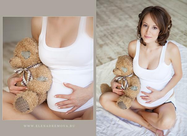 Идеи фотосессии для беременных в домашних условиях фото